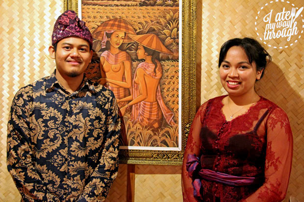 Balinese Spice Magic Owner Jules Mitry and staff member