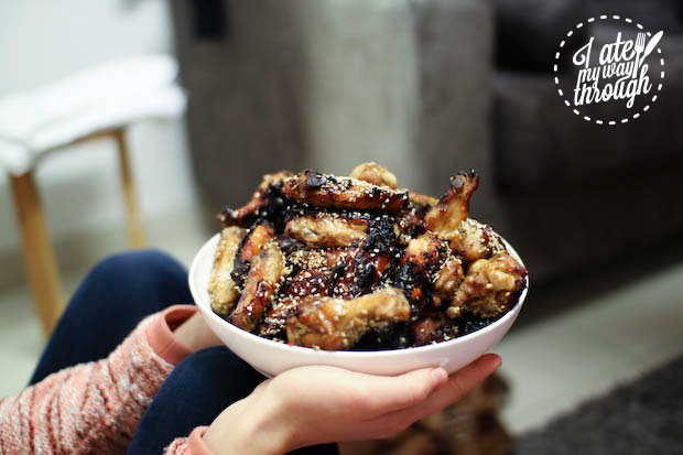 Honey and soy chicken wings