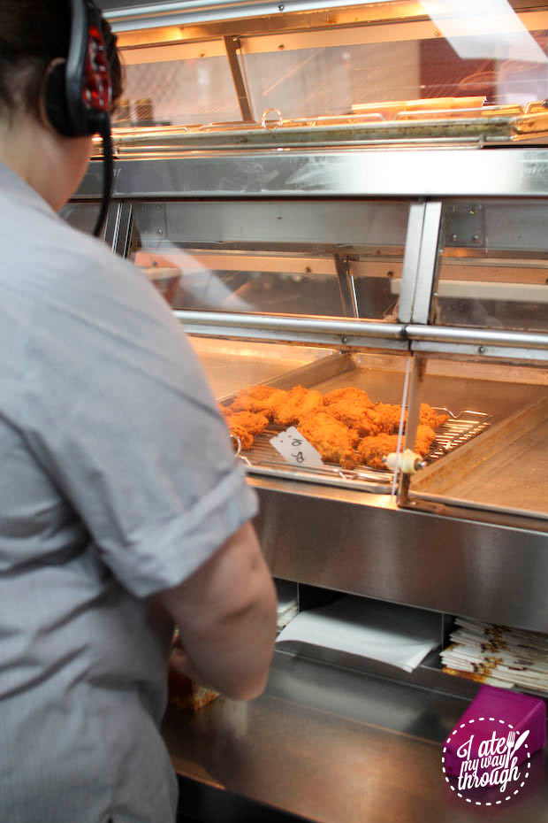 KFC wicked wings behind the scenes