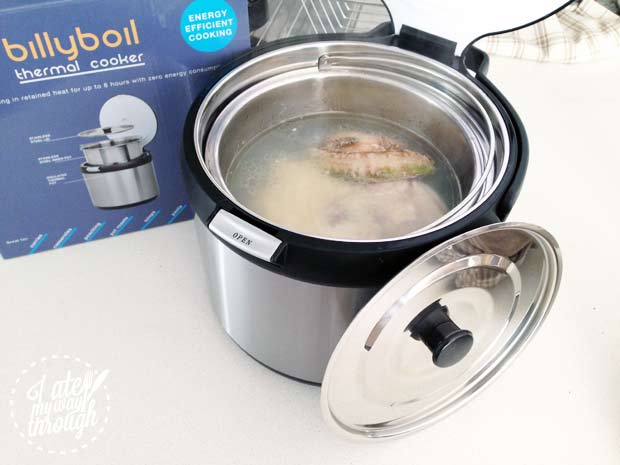 Billy Boil thermal cooker