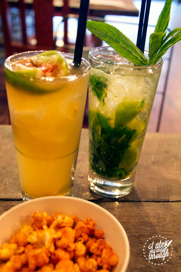 Dark & Stormy and Mojito