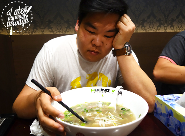 Dave is defeated by the pho