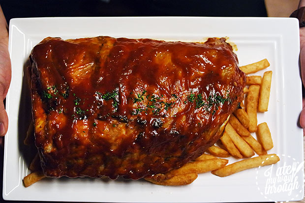 First rack of ribs
