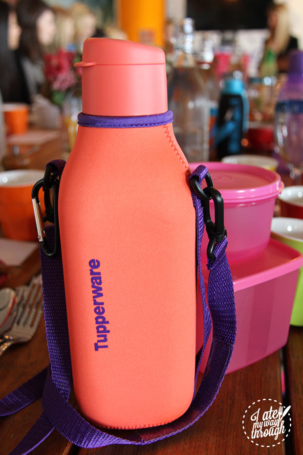 Tupperware drink bottle