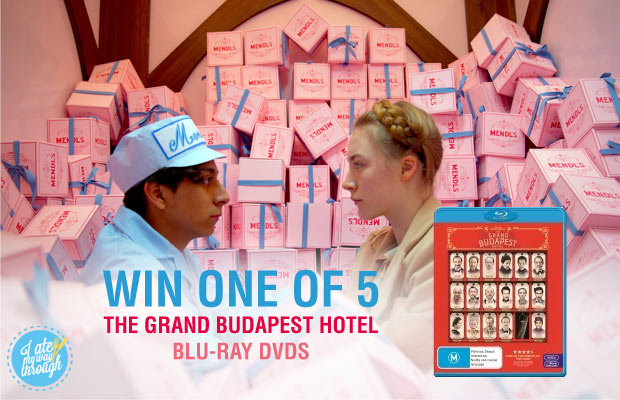 The Grand Budapest Hotel Giveaway