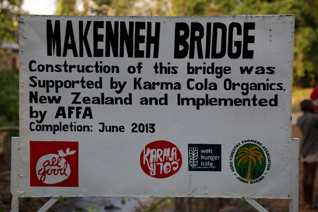 Makenneh Bridge - Boma, Sierra Leone