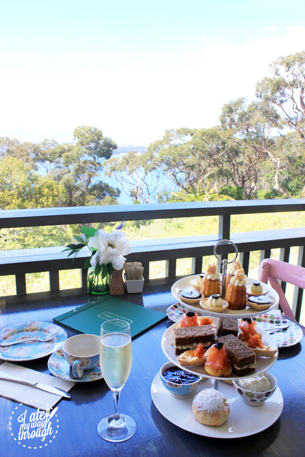 High Tea with a view
