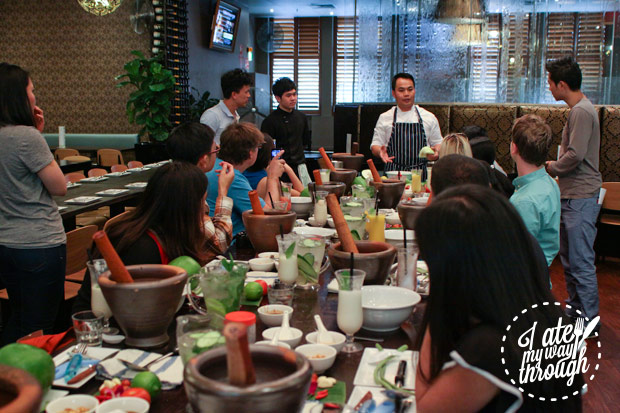 Lao cooking class at Lao cuisine Sydney food tour