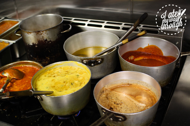 Different types of curry bases