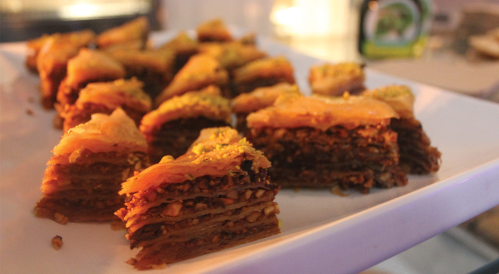 Chocolate Baklava at Alpha Foodstore