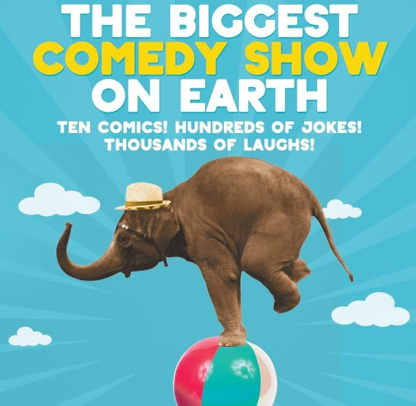 The Biggest Comedy Show on Earth: 10 comics! 2 hours