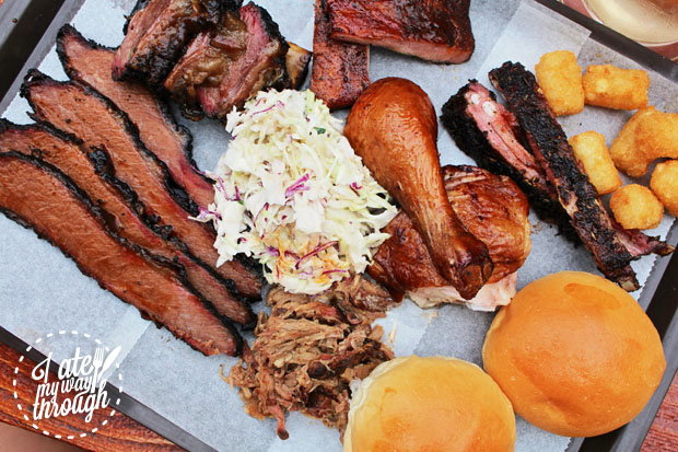 Smoked Meat Plate at The Oxford Tavern