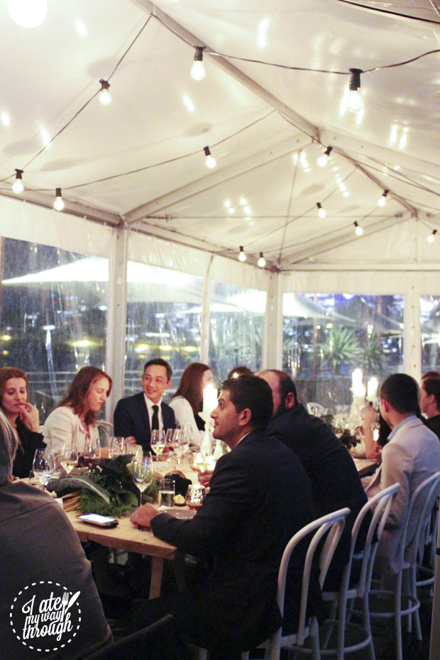 Diners at The Gantry x Black Star Pastry collaboration dinner