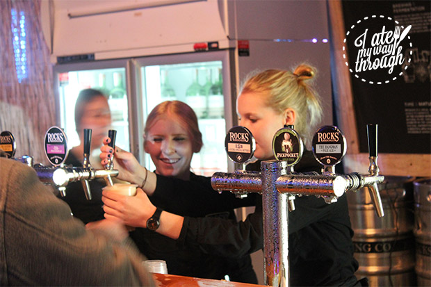 Happily pouring up some of the finest craft beer in NSW.