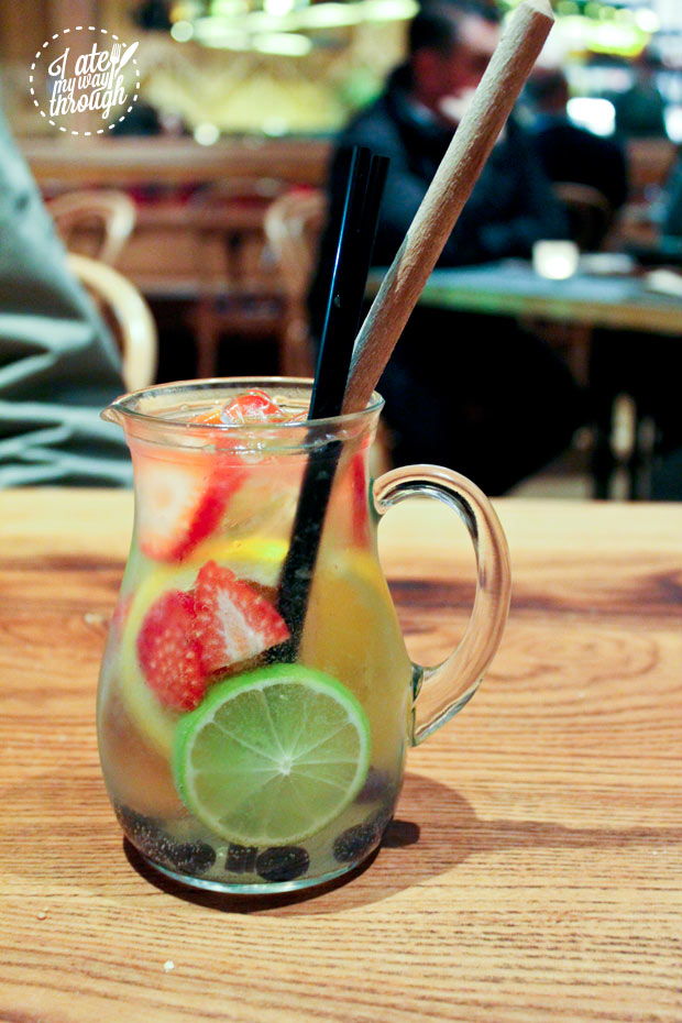 White Wine Sangria Jug for one