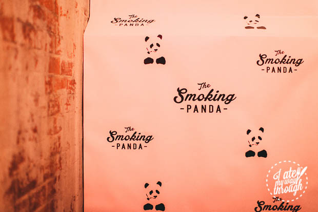 The Smoking Panda Logo