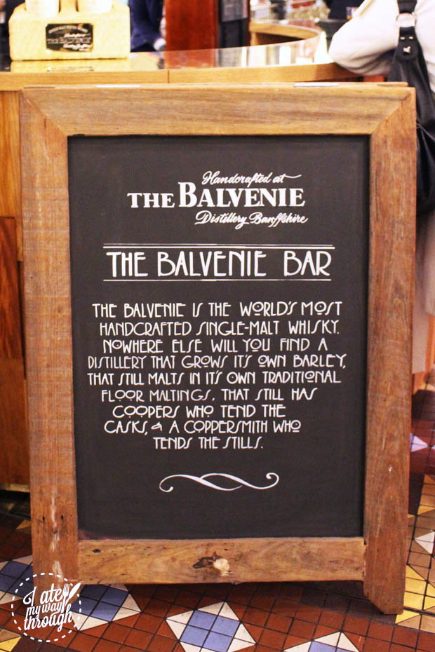 Balvenie Pop-Up Bar at The Strand Arcade