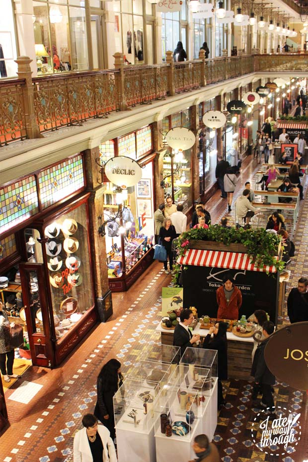 The Strand Arcade Craft Fair