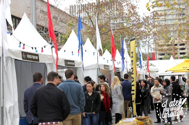 BBR French World Festival Stalls