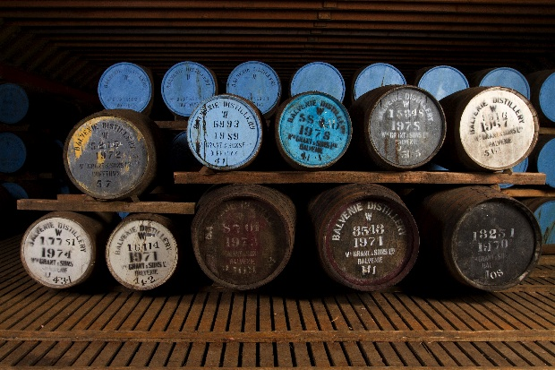 The Balvenie Distillery casks