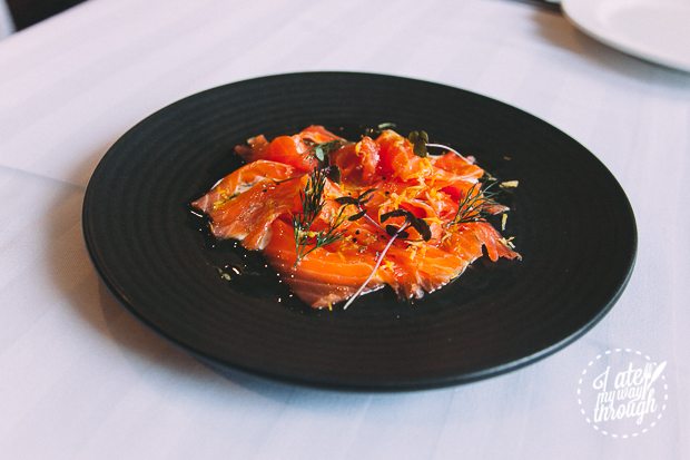 Tasmanian Cured Ocean Trout, Atlantis Bar and Dining - North Ryde