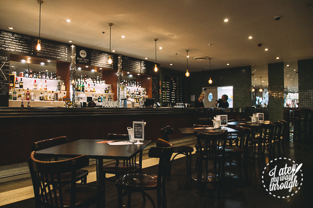 Bar Luca interior, Sydney CBD
