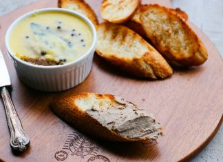 chicken liver parfait made with Tefal cuisine companion - Bastille Day recipe