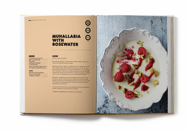 Muhallabia with Rosewater