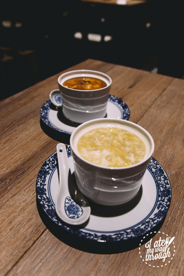 Chicken and Sweet Corn Soup - Lan Yuan Restaurant