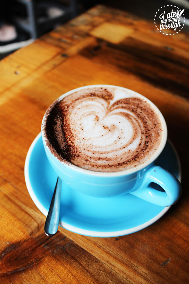 The Copper Mill Coconut Hot Chocolate