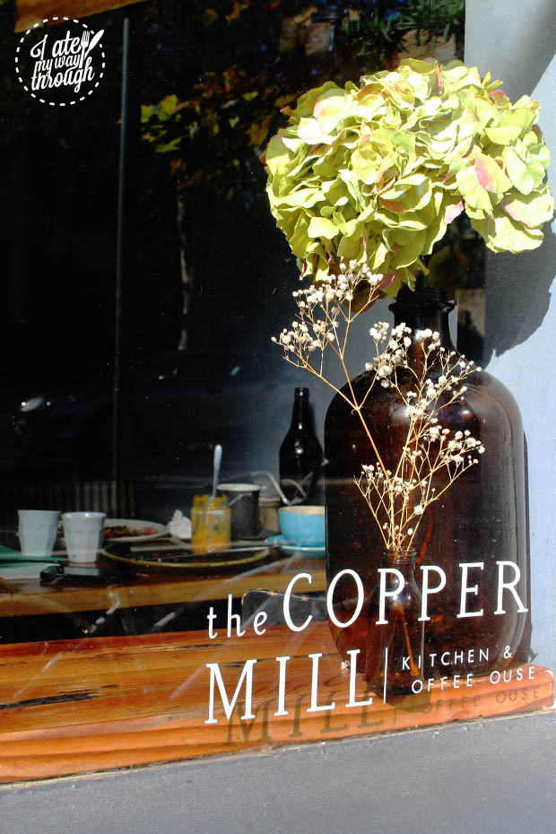 The Copper Mill window