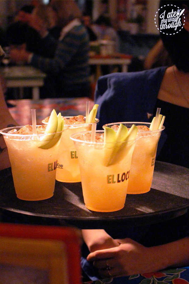 El Loco Apple Pie Margaritas
