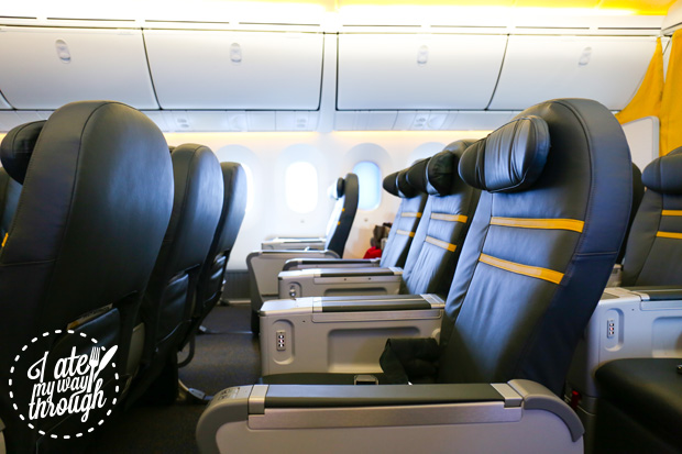 Scoot Boeing 787 Dreamliner ScootBiz seats