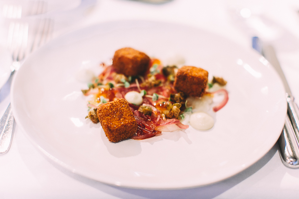 Crumbed Lamb Shoulder, The Devonshire