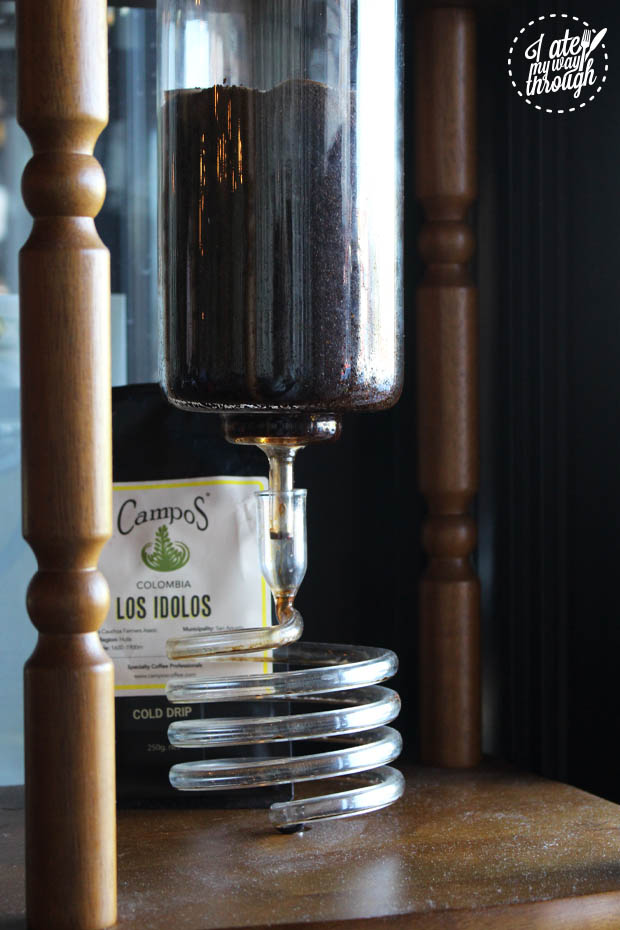 XS cold drip campos coffee