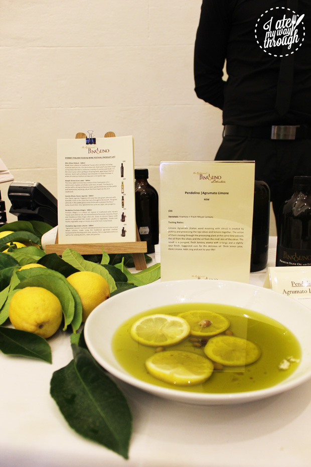 Lemon based olive oil
