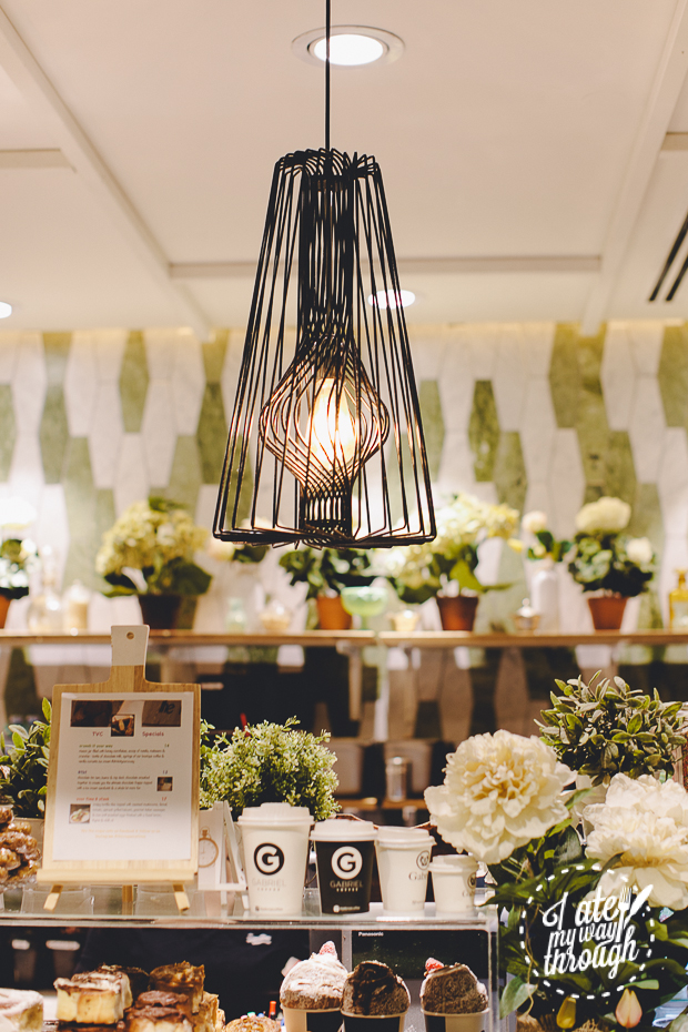 The Vogue Cafe, Macquarie Centre, Decor, French Industrial