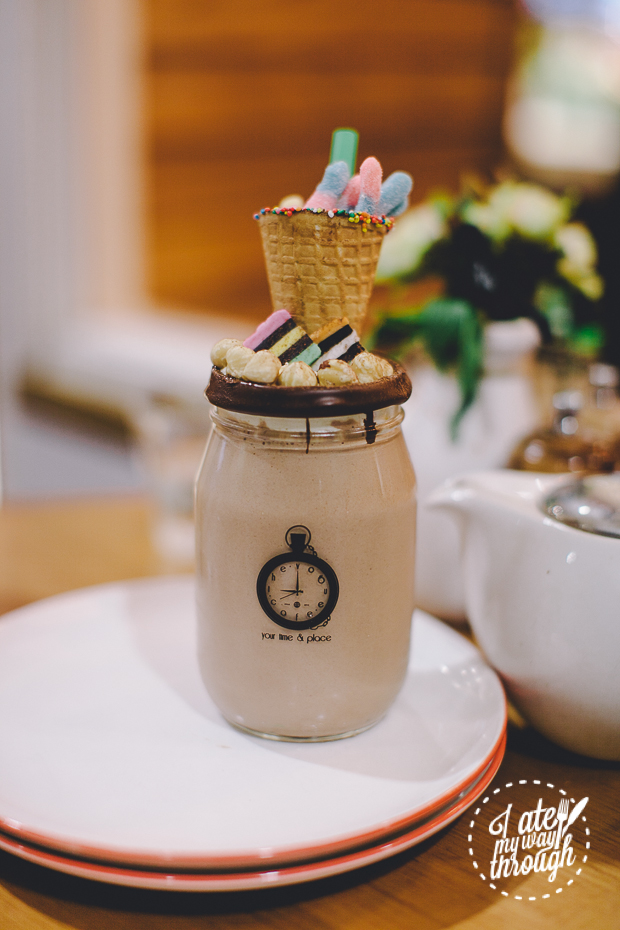 Nutella Shake, The Vogue Cafe