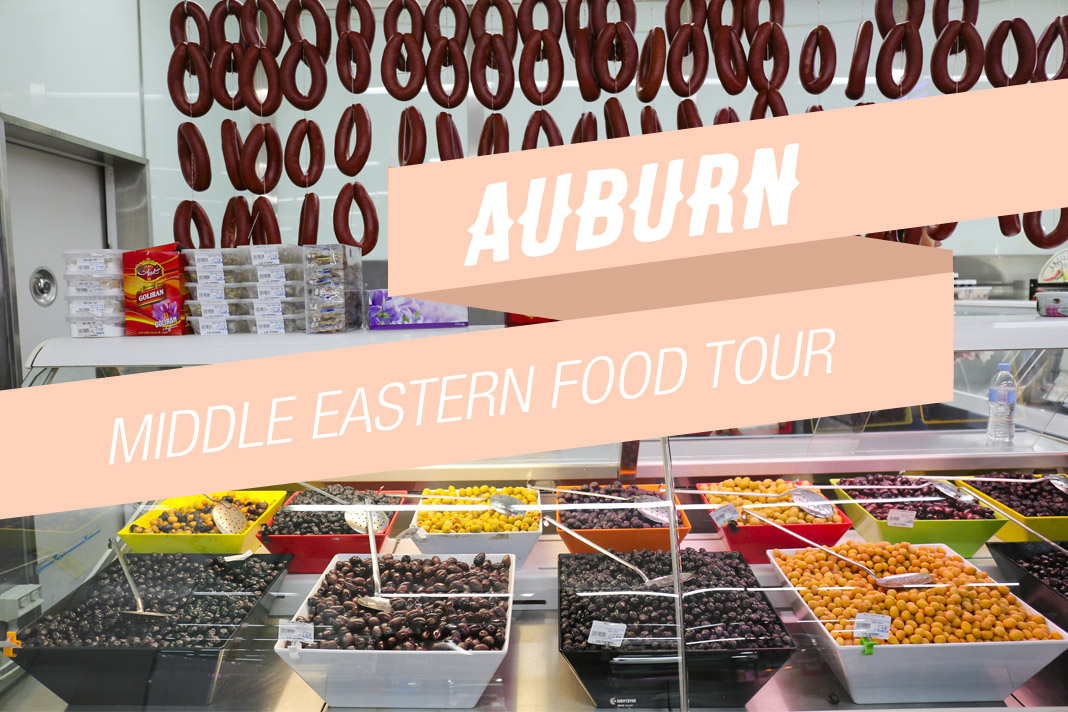 Auburn Middle Eastern Food Tour