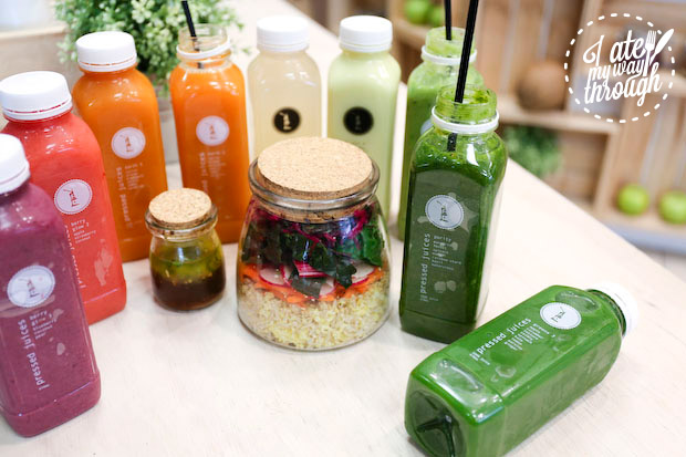 Clean eating at Pressed Juices MLC Centre