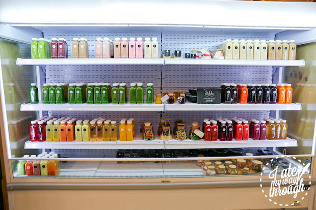Pressed Juices at MLC Centre