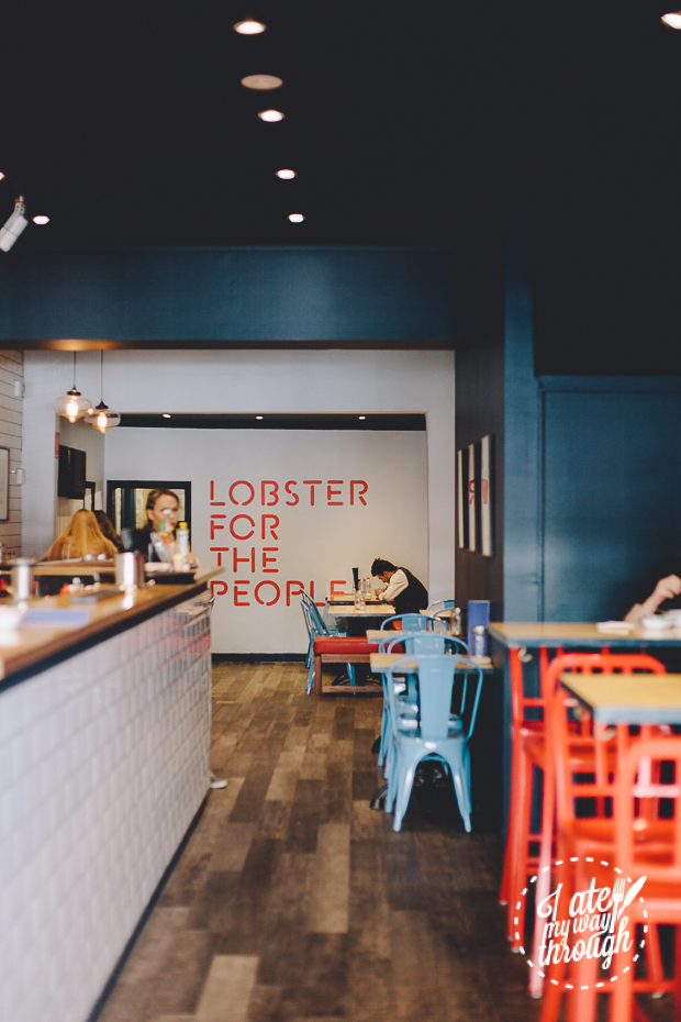 Johnny Lobster, Crows Nest, Interior Decoration, Lobster for the People