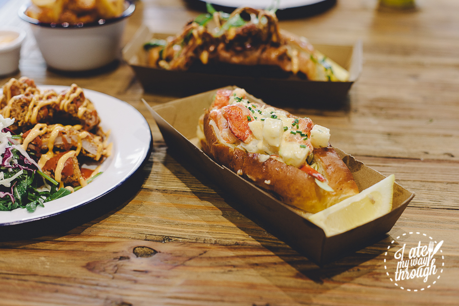 Johnny Lobster, Lobster Roll, Crows Nest