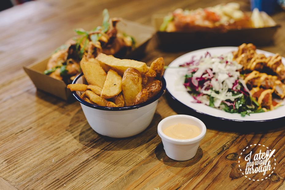 Hand Cut Chips, Johnny Lobster, chips,