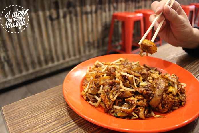 Penang fried Koay Teow ($12.80)