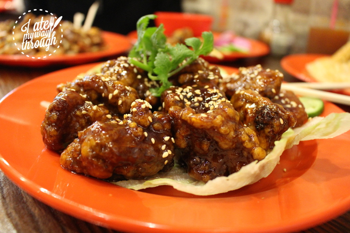 The best of the day, Special Sauce Pork Ribs ($18.80) are an absolute must from Ho Jiak.
