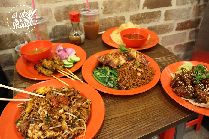 A full spread of some of the delicious options at the Penang inspired Ho Jiak.