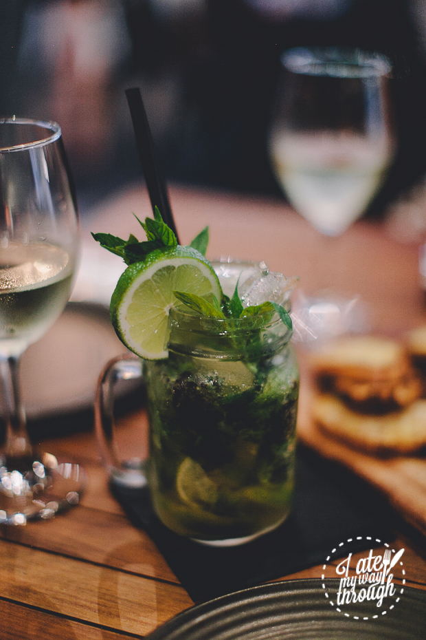The Wolf Wine Bar, Sydney CBD, mojito, virgin mojito