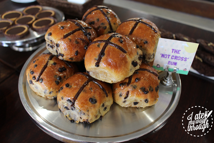 """""""Not Cross Bun,"""" a play on the traditional Easter classic"""