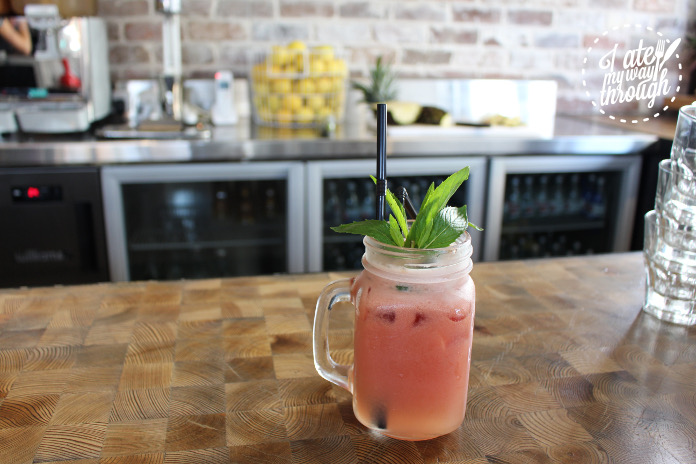 The Refresher... Watermelon, apple, mint & lime ($7.50)